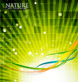 modern nature vector image vector image