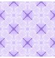 floral purple blueprint pattern vector image