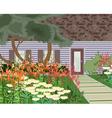 Blooming Garden vector image