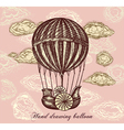 Balloon Transport Background vector image vector image