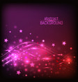 abstract lighting background with lines glowing vector image