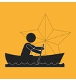 Success design Winner icon Flat vector image