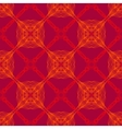 neon red pattern with renaissance motifs vector image
