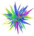 polygon sharp object vector image