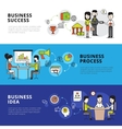 Business People Banners vector image