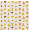 watercolor triangle pattern vector image