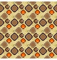 seamless retro pattern 02 vector image vector image