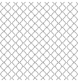 Abstract seamless ornamental lines monochrome vector image