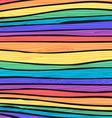 Rainbow wooden texture vector image