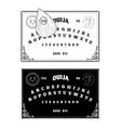 Ouija boards vector image