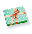box present holiday xmas vector image