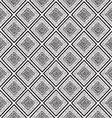 monochrome tribal ethnic seamless pattern vector image