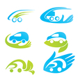 safety eco cars vector image vector image