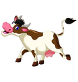 funny Cartoon Cow for you design vector image vector image