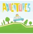 Adventures vector image