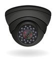 surveillance cameras 01 vector image vector image