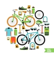 Bicycle Design Concept vector image