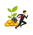 competitive business design vector image