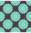 Ethnic seamless pattern with large mandalas vector image