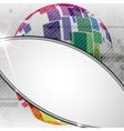 Colorful Globe Design vector image vector image