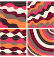 seamless pattern with fabric texture vector image vector image