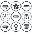 More with cursor pointer icon Details symbols vector image