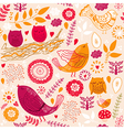 Cute Animals Background vector image vector image