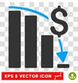 Financial Crisis Eps Icon vector image