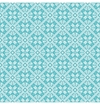 Seamless snowflakes background geometric pattern vector image