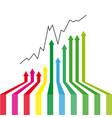 arrows success vector image