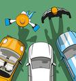 Rent Car vector image vector image