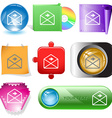 mail right arrow vector image