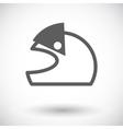 Motorcycle Helmets vector image