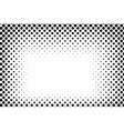 Big dots halftone background Overlay vector image