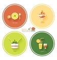 Restaurant menu designs vector image