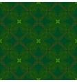 victorian dark green vintage pattern vector image