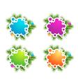 Christmas Copyspace Banner Designs vector image vector image