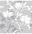 Elegance Seamless pattern with flowers flo vector image