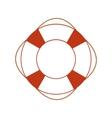Orange safety ring vector image