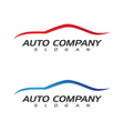 Auto car Logo Template vector image
