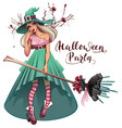 cosplay fashionable dress for halloween party vector image
