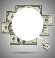 Money SpeechBubble vector image