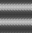 Monochrome pattern with striped white and black vector image