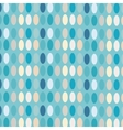 Ovals colorful abstract background vector image