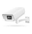 surveillance cameras 04 vector image vector image