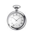 alarm arrow clock vector image