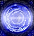 Abstract concentric circles vector image