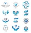Dental implants vector image