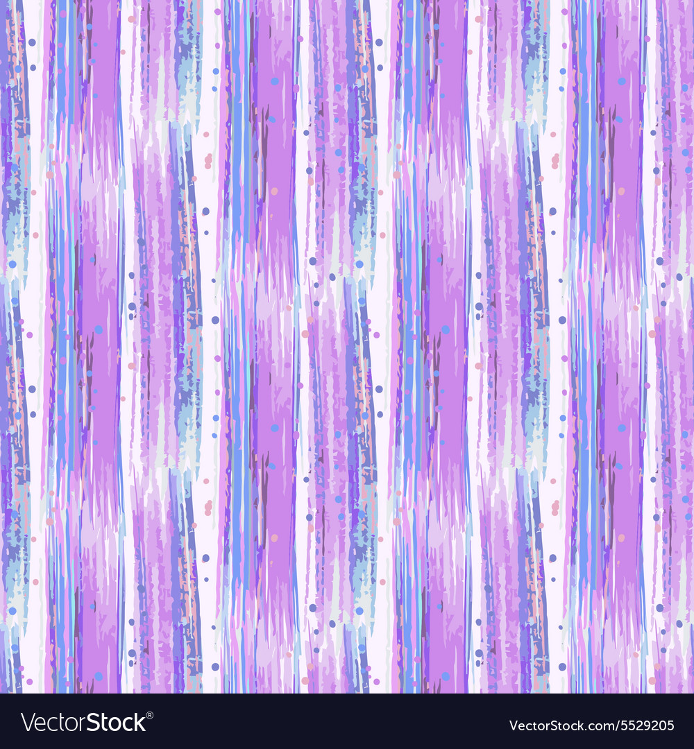Seamless hand drawn abstract striped pattern vector