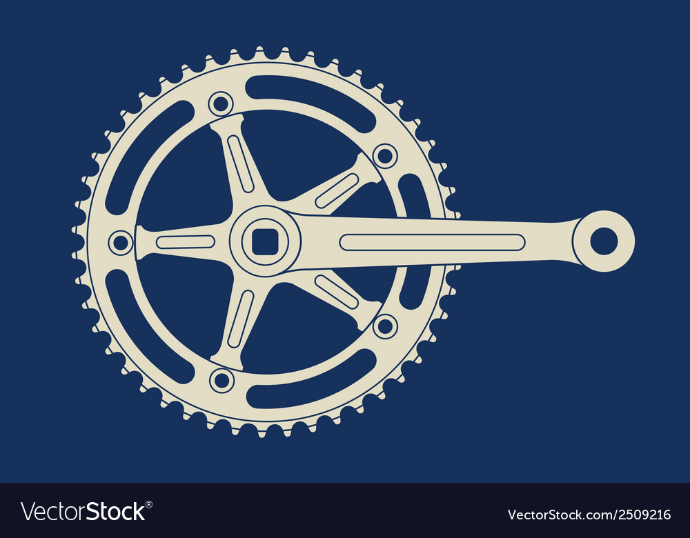 Chainring vector